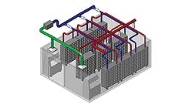 A schematic of Allentown's Facility Integrated Airflow Solution (FIAS)
