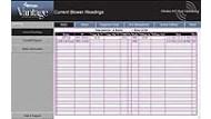 Wi-Com Vantage Screenshot: Blower Readings Screen