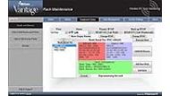 Wi-Com Vantage Screenshot: Rack Maintenance Screen